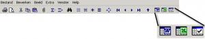 Excel en Word knoppen in NAV